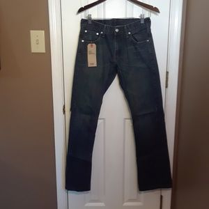 NWT 29X32 LEVIS 527 LOW RISE SLIM BOOT